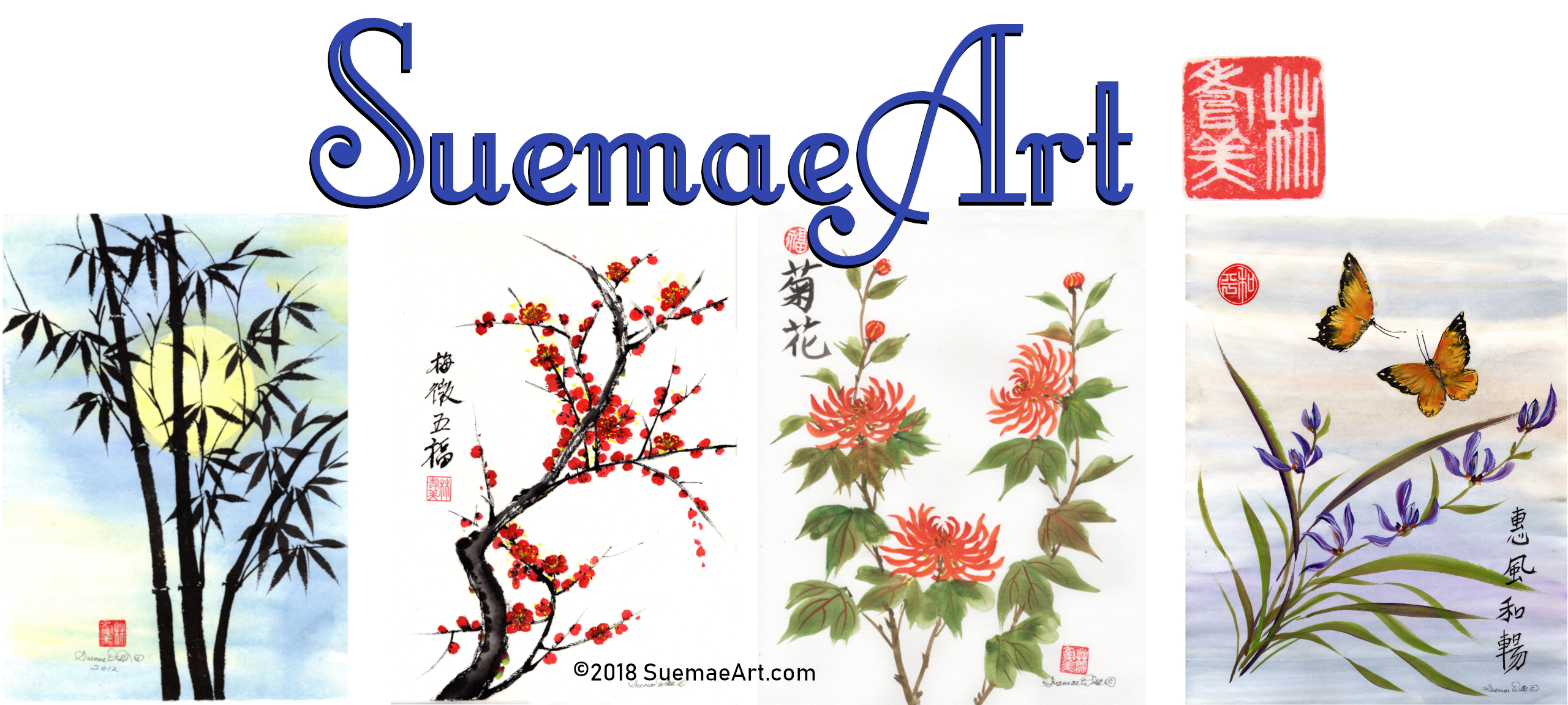 SuemaeArt channel art for WordPress